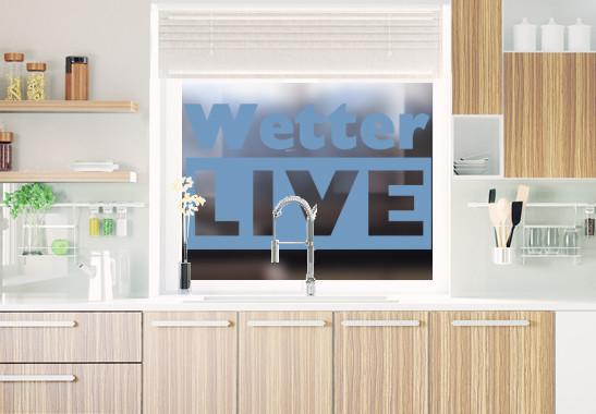 Glasdekor Livewetter