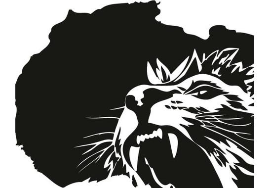 Glasdekor Der König der Löwen - Bild 7