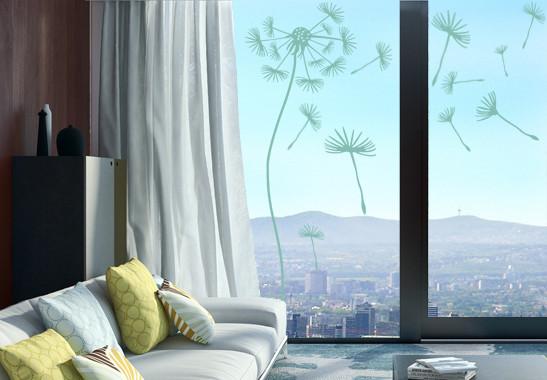 Glasdekor Pusteblumen Schirmchen - Bild 5