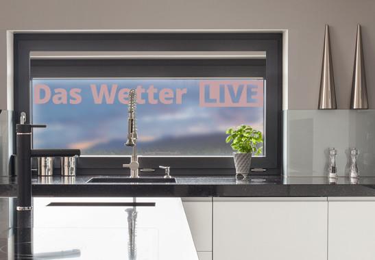 Glasdekor Live Wetter - Bild 4