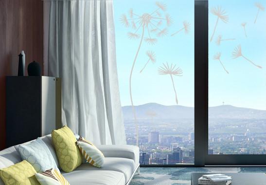 Glasdekor Pusteblumen Schirmchen - Bild 2