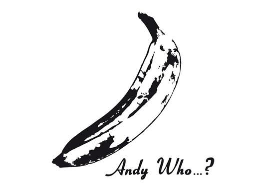 schwarz/weiss Ansicht - Wandtattoo Andy Who..?
