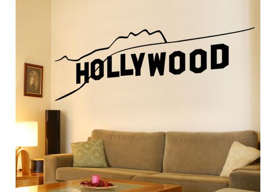 Wandtattoo Hollywood