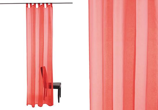 Homing Schlaufenschal Barletta rot - Bild 1