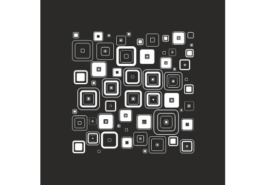 Glasdekor Retro Muster - Bild 6