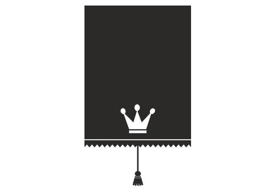 Sichtschutz Prinzessinnen Rollo - Bild 6