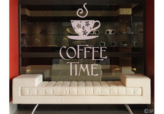 Glasdekor Coffee Time 1