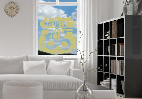 Glasdekor Route 66 - Bild 3