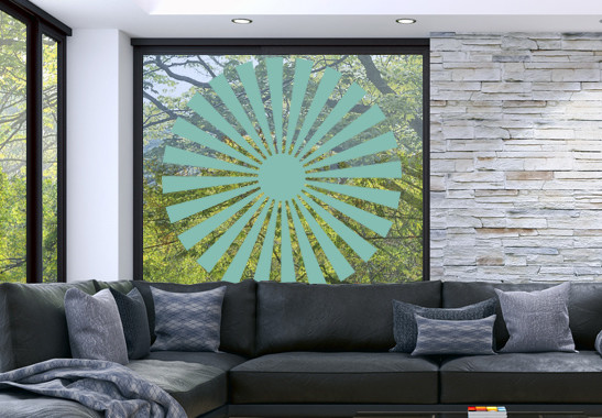 Glasdekor Sonnensymbol - Bild 5