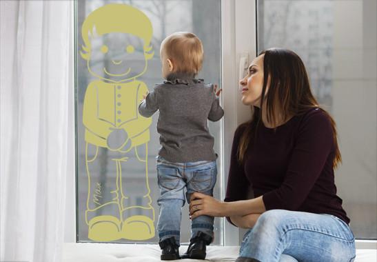 Glasdekor Wunschtext Kleiner Matz - Bild 3