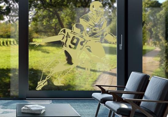 Glasdekor American Football - Bild 3
