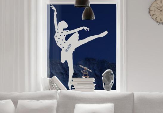 Glasdekor Wunschtext Grazile Ballerina - Bild 2