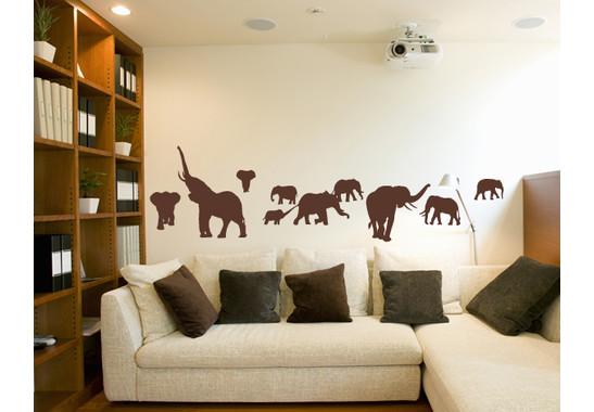 Wandtattoo I0 Elefanten
