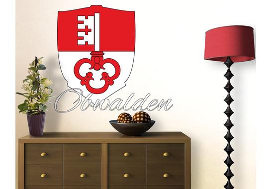 Wandtattoo Kanton Obwalden