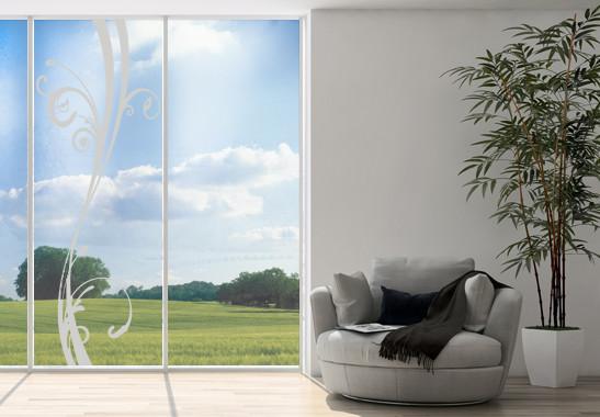 Glasdekor Floraler Schwung - Bild 2