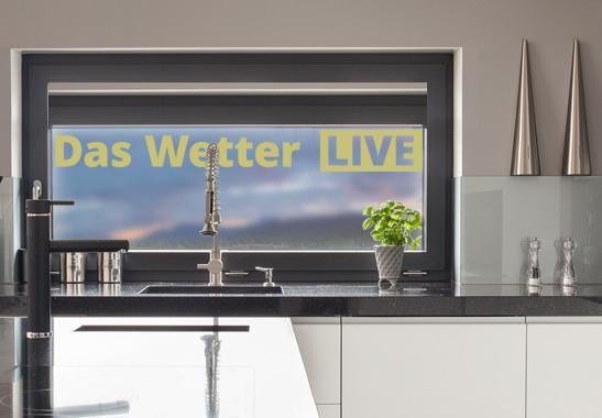 Glasdekor Live Wetter - Bild 3