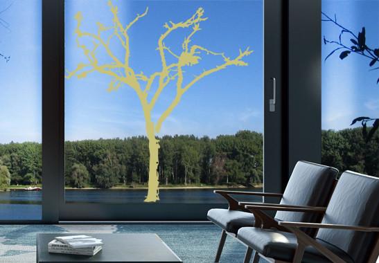 Glasdekor Winterbaum - Bild 3