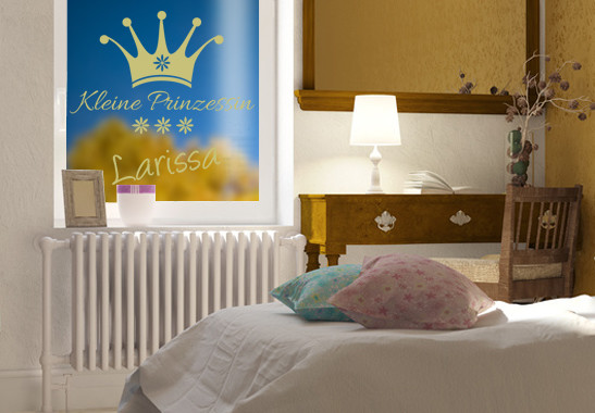 Glasdekor Wunschtext Kleine Prinzessin - Bild 3