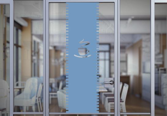 Sichtschutz Café Rollo