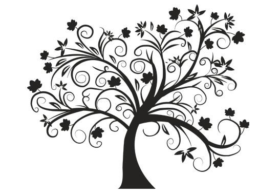 Glasdekor Herbstbaum - Bild 6