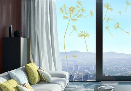Glasdekor Pusteblumen Schirmchen - Bild 3