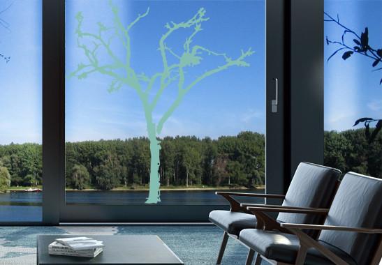 Glasdekor Winterbaum - Bild 5
