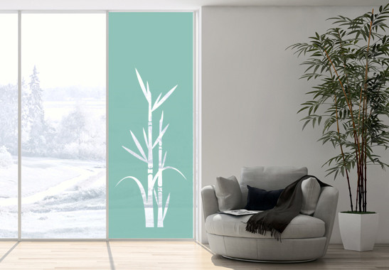 Sichtschutz Bambus Zweig - Bild 5