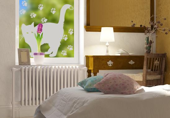 Glasdekor Braves Kätzchen - Bild 2