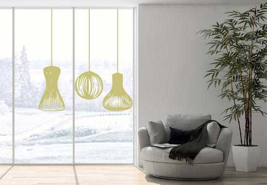 Glasdekor Lampionschirme - Bild 3