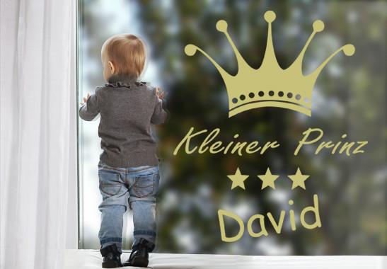 Glasdekor Wunschtext Prinz - Bild 3