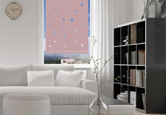 Sichtschutz Nachthimmel Rollo - Bild 4