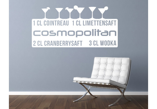 Wandtattoo Cosmopolitan