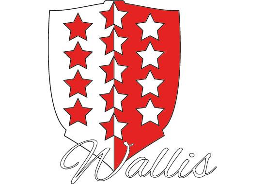 Wandtattoo Kanton Wallis - Bild 2