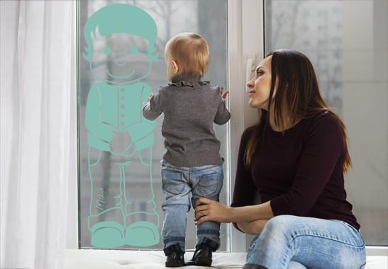 Glasdekor Wunschtext Kleiner Matz - Bild 5