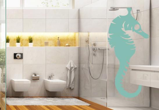 Glasdekor Seepferdchen - Bild 5