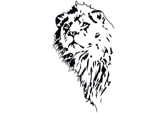 Glasdekor Löwenkönig - Bild 6