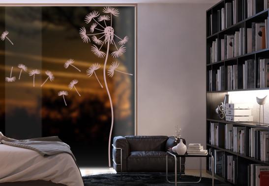 Glasdekor Löwenzahnblume - Bild 4