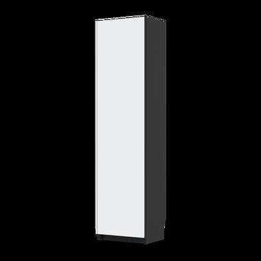 PANTONE Grau 4 (Pax Türschrank Front) - Möbelfolie Grau 4 (Pax Schrank 201cm Höhe - 1 Tür)