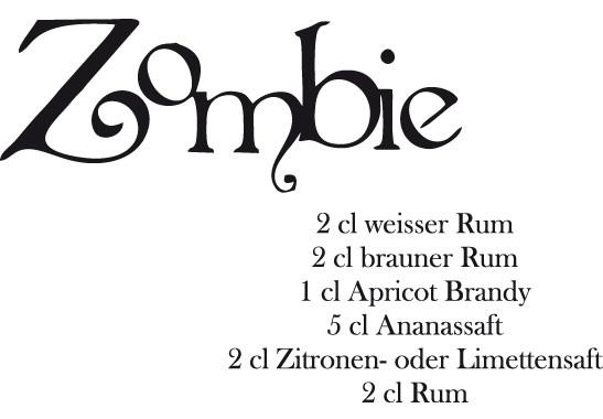 Glasdekor Zombie Rezept - Bild 6