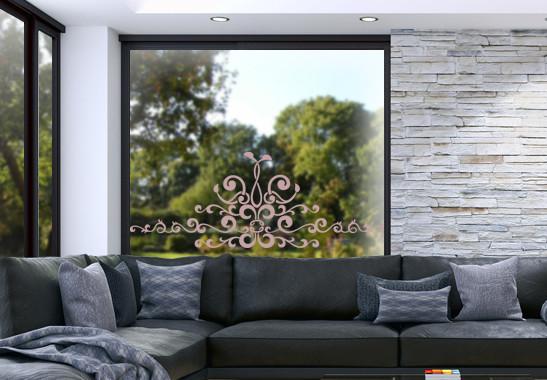 Glasdekor Barocke Verzierung - Bild 4