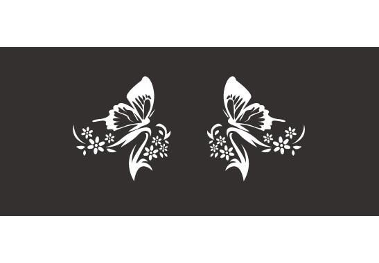 Sichtschutz Schmetterlingspaar - Bild 6