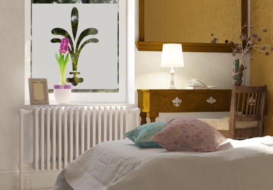 Sichtschutz Lilien Ornamentik - Bild 2