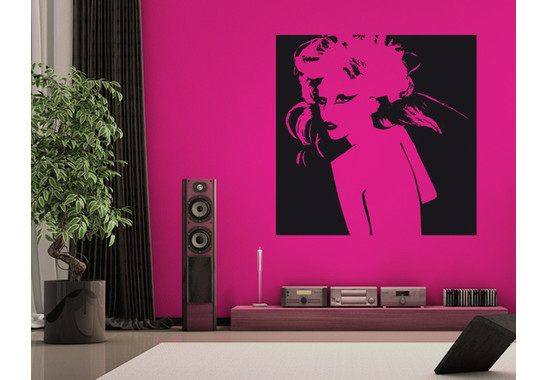 Wandtattoo Wallpaper Gaga I