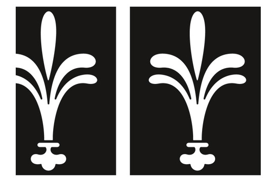 Fliesenaufkleber Klassische Lilie Set II - Bild 4