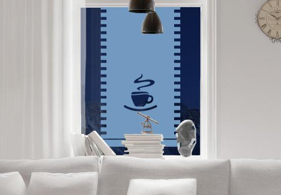 Sichtschutz Café Markise