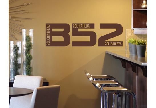 Wandtattoo B52