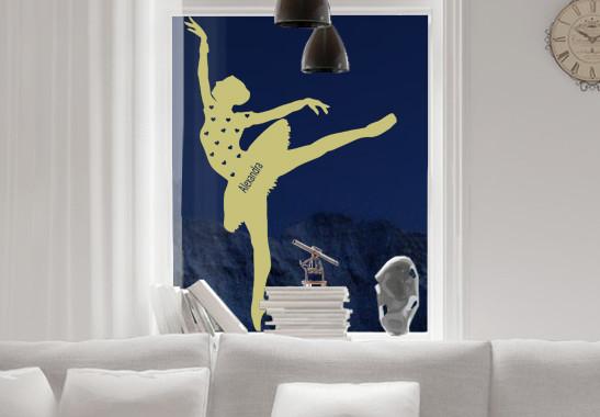 Glasdekor Wunschtext Grazile Ballerina - Bild 3