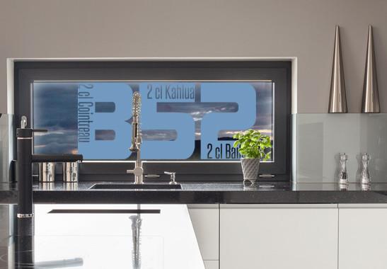 Glasdekor Rezept B52