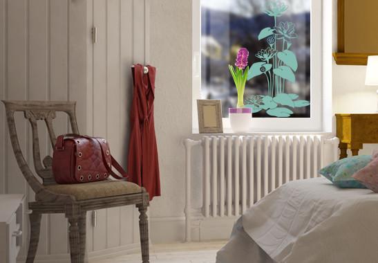 Glasdekor Herbstbäumchen - Bild 5