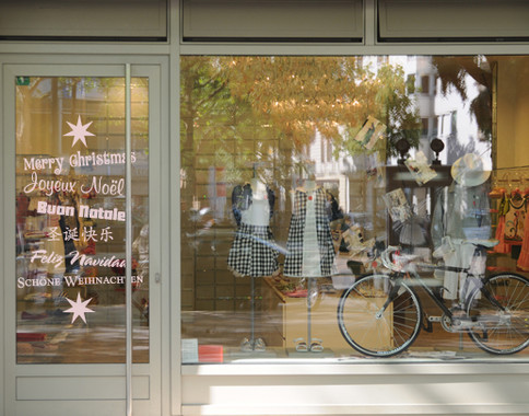 Folienfarbe in Wohnansicht: Romantic Rose - Glasdekor X-mas Greetings